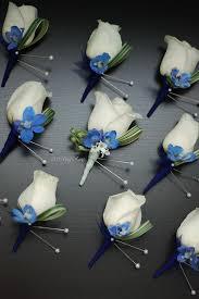 Royal Blue Boutonniere Wedding Flowers Blue Best Photos Blue Wedding Dresses Dress