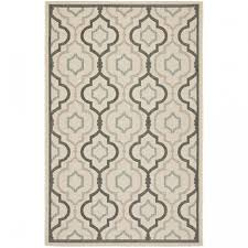 Safavieh Indoor Outdoor Rugs Safavieh Courtyard Digitas Beige Indoor Outdoor Area Rug