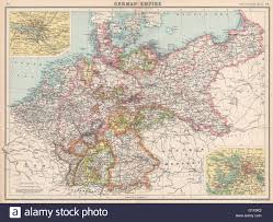 Map Of German States by German Empire States Germany Prussia Hamburg Berlin