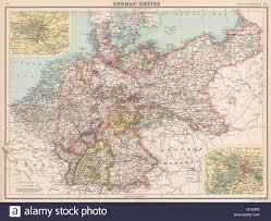 Bamberg Germany Map German Empire States Germany Prussia Hamburg Berlin