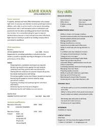 sample resume for office administration job office administrator resume examples cv samples templates jobs
