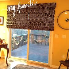 roman shades from for sliding glass door whimsical windows