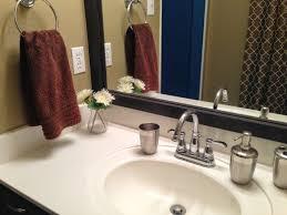 Framing Builder Grade Bathroom Mirror 92 Best Design U0026 Diy Blogger Makeovers Images On Pinterest