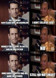 I Don T Believe You Meme - did you hear raph clarke won the brownlow i don t believe you