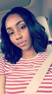 center part bob hairstyle middle part bob black hairstyles pinterest bobs middle
