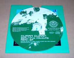 duran duran beautiful colours remix ep cd in card sleeve