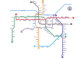 Santiago Metro Map by Expomin 2018 Www Expomin Cl