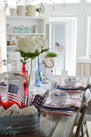 simple 4th of july table decorating ideas fox hollow cottage