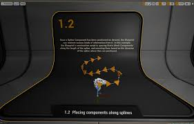 Blueprint Math by Studying Spline Components In Unreal Engine 4