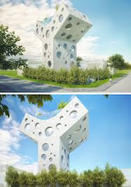 this y shaped house concept is a fun futuristic fantasy contemporist