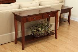 shaker sofa table carlisle shaker occasional tables ohio hardword u0026 upholstered