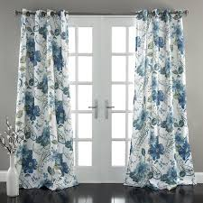 Paisley Shower Curtain Blue by Lush Decor Floral Paisley Window Curtain Panel Set Of 2 84 X 52