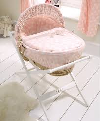 Orchard Sleigh Cot Toddler Bed White Pink Lemonade Moses Basket Moses Baskets Stands Mamas