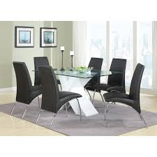 coaster furniture 120802 ophelia contemporary vinyl and metal