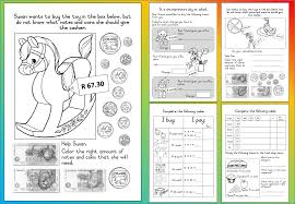mathematics grade 3 u2013 money worksheet teacha
