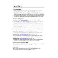 free resume templates microsoft word ten great free resume templates microsoft word links