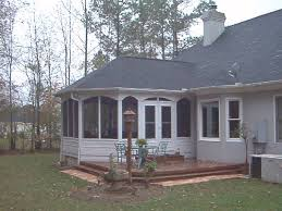 House With Sunroom Architecture Country House With Sunroom Additions In White