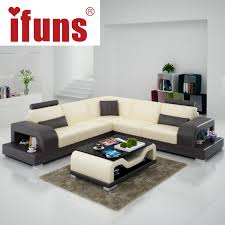 L Shaped Sofa With Recliner Ifuns Classic Italian Real Leather Modern European Sofa Recliner