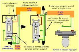 3 way switch wiring diagram multiple lights between switches
