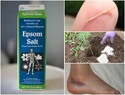 epsom salt vs table salt mind blowing reasons why epsom salt should be in every home