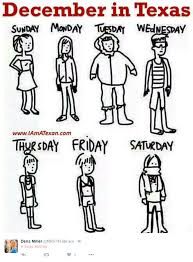Texas Weather Meme - texas is freaking out over the first cold front coming in december