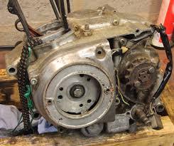 honda cb 125 honda cb 125 restoration honda cb125s flywheel rotor stator