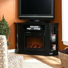 Black Electric Fireplace Black Fireplace Media Console Dimplex Corner Black Electric