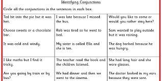 identifying conjunctions ks2 spag test practice classroom secrets