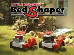 little wonder bedshaper bed edger redefiner youtube