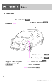 toyota yaris 2010 3 g owners manual