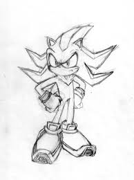 sonic and shadow coloring pages shadow the hedgehog coloring pages shadow the hedgehog by omega