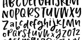 how to prepare lettering for font making every tuesday