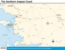 Map Of Ancient Greece And The Aegean World by Printable Travel Maps Of Istanbul U0026 The Turkish Coast Moon