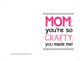 ilovetocreate blog crafty mother u0027s day free printable card