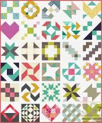 the 1 sler quilt takes you through the mini block