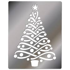 free tree stencils xmas tree stencils pictures stencils and
