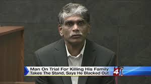 man accused of killing family in novi testifies