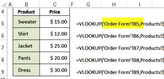 tutorial para usar vlookup excel vlookup function exles