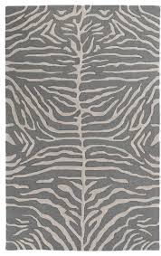 Tropical Print Area Rugs Pollack Awpl 2230 Slate Animal Print Rug Tropical Novelty Rugs
