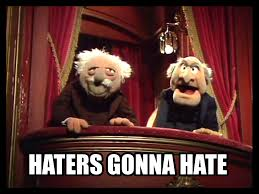 thanksgiving muppets haters gonna muppets critics are the best amused