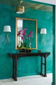 Turquoise Home Decor Ideas Monday Inspitation Pantone Color Emeralds And Turquoise Walls