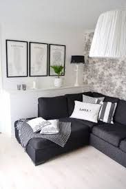 Black And White Living Room Furniture Furniture Design Ideas - Black and white living room decor