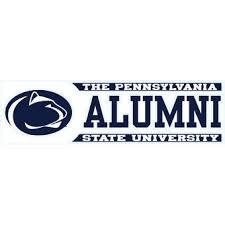 penn state alumni sticker penn state car decals psu decal sticker penn state