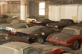 max corvette forgotten corvette collection emerges from the dust after 25 years