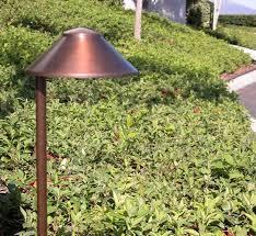 china hat 5 5 u2033 integrated led solid brass 120v path landscape
