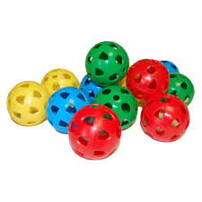 playballs gamestar airflow perforated plastic balls pack of 12