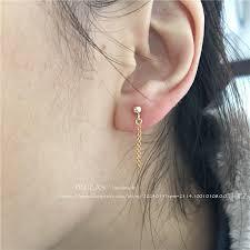 earring studs with loop online get cheap metal loop earings aliexpress alibaba