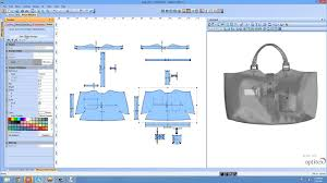 Program To Design Kitchen Optitex Virtual Bag Software Youtube