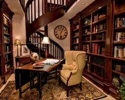 Home Office Library Design Ideas Pjamteencom - Home office library design ideas