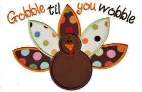 gobble turkey clipart clipartxtras